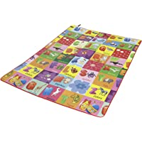 Paramount 100% Waterproof, Anti Skid,Double Sided Baby Play & Crawl Mat (6'X5' Feet) (Alpha 6' X 5')