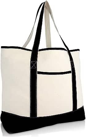 13X11 Be-Tty Bo-Op Stylish Canvas Tote Bag Shoulder Bag Shopping Bag Foldaway Travel Bag Handbags Top Zipper Closure Daily Essentials