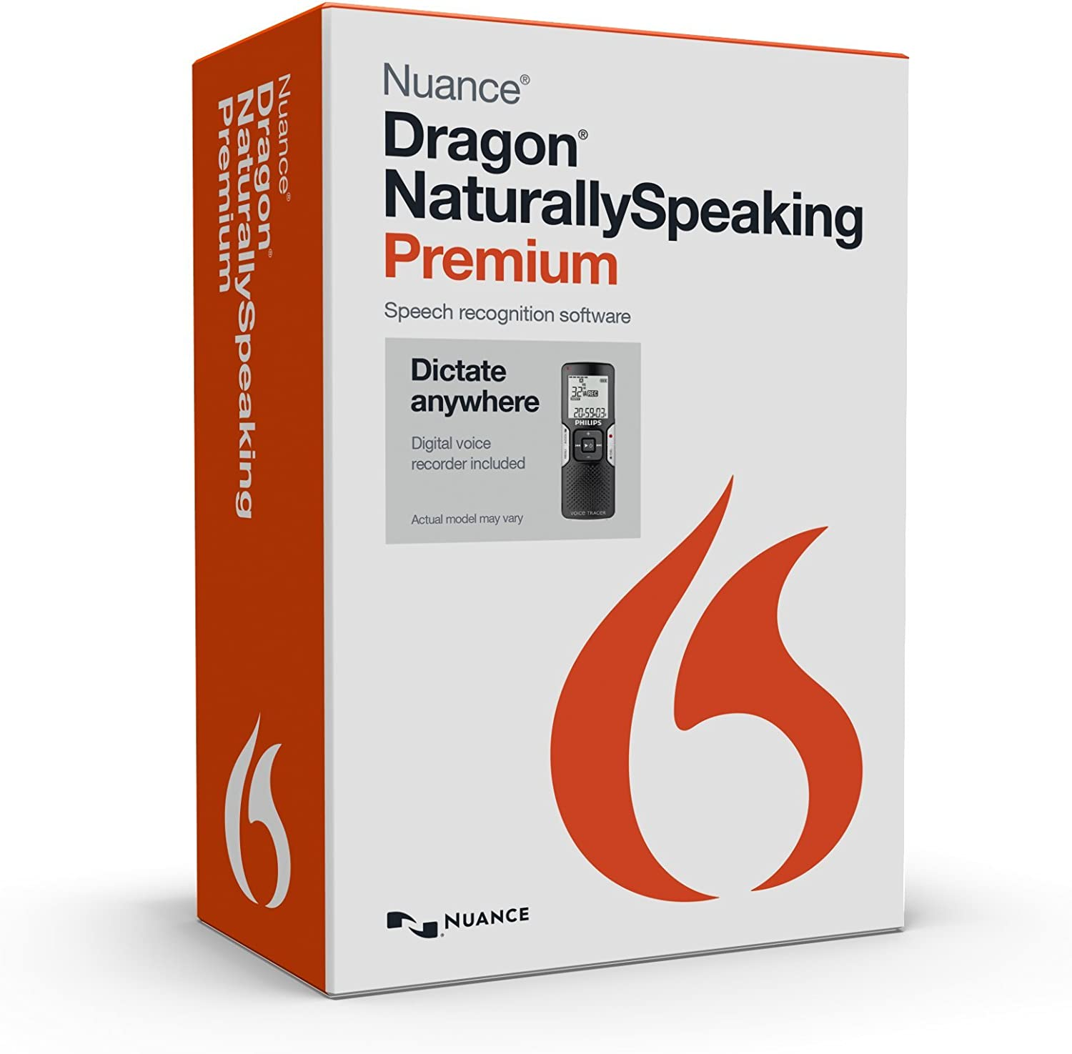 Dragon NaturallySpeaking Premium 13 with Digital Recorder (Discontinued) 71os0A2BkRmLSL1500_
