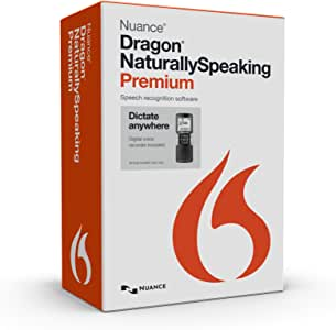 Dragon NaturallySpeaking Premium 13 with Digital Recorder (Discontinued)