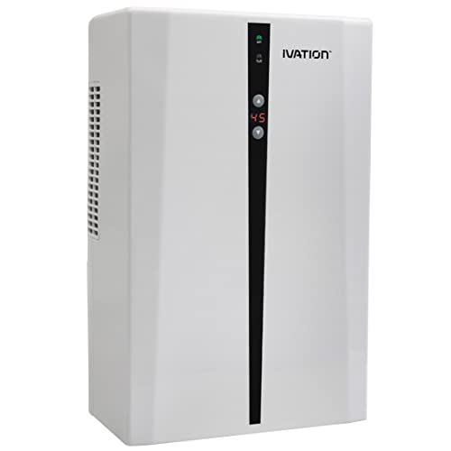 Ivation IVADM45 Thermo-Electric Intelligent Dehumidifier