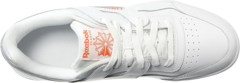 Fcu-White//Bright Lava Reebok Mens Workout Plus Cross Trainer 5 M US