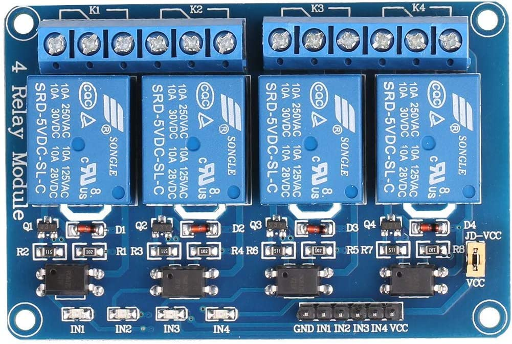 8 Channel DC 5V Relay Module with Optocoupler for Arduino UNO R3 MEGA AVR STM32 Raspberry Pi