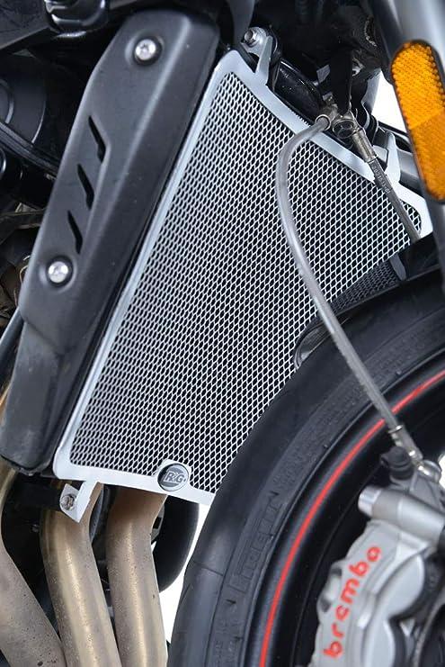 Street Triple 765 RS//R//S 17 Trium retina protezione radiatore colore nero R/&G Racing RAD0219BK