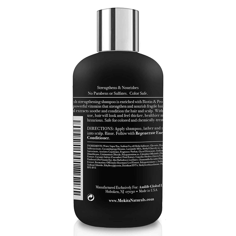Mokita Naturals Biotin Hair Volumizing Thickening Shampoo