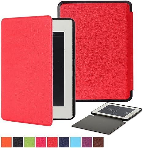 Bestdeal – Alta calidad Ultra delgado ligero Smart Cover función de atril para Barnes & Noble Nook