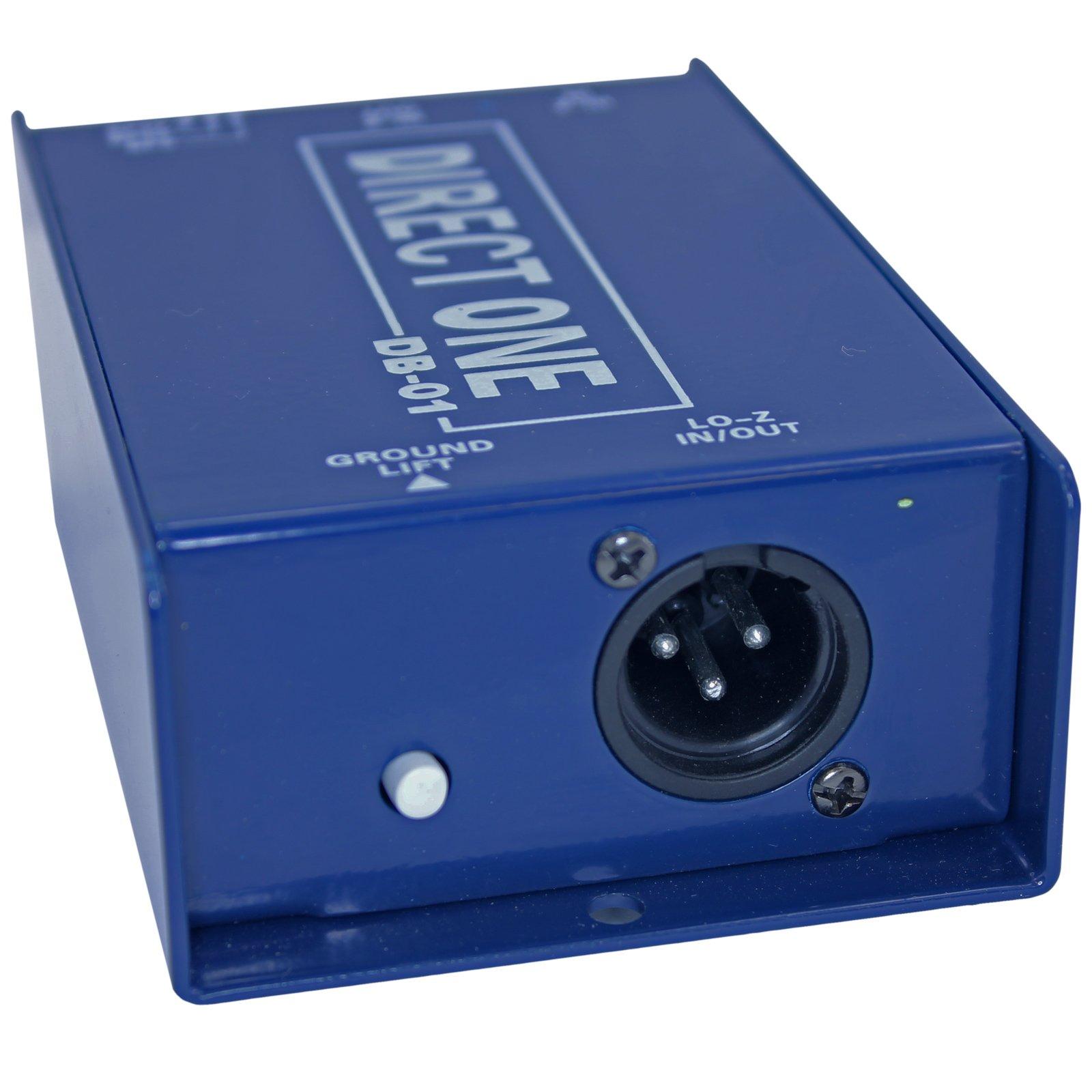 Passive Di direct box 1/4'' instrument to balanced & unbalanced XLR by Yovus (Image #3)