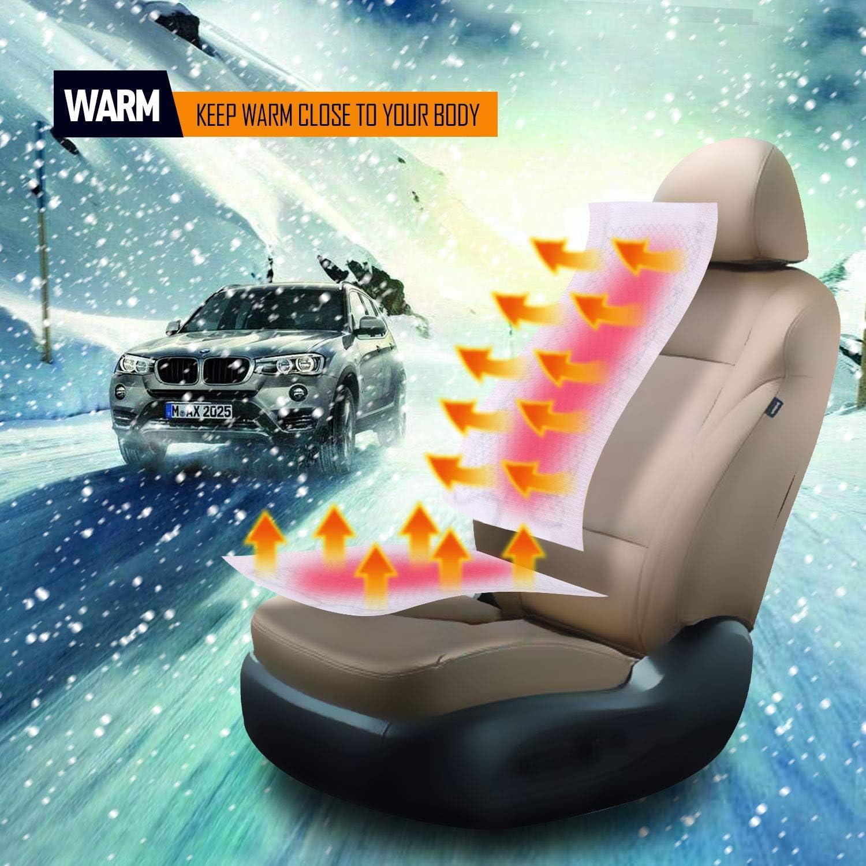 2 seat Premium Car Seat Heater Kit Hi//Lo Switch Settings Faster Warm Up