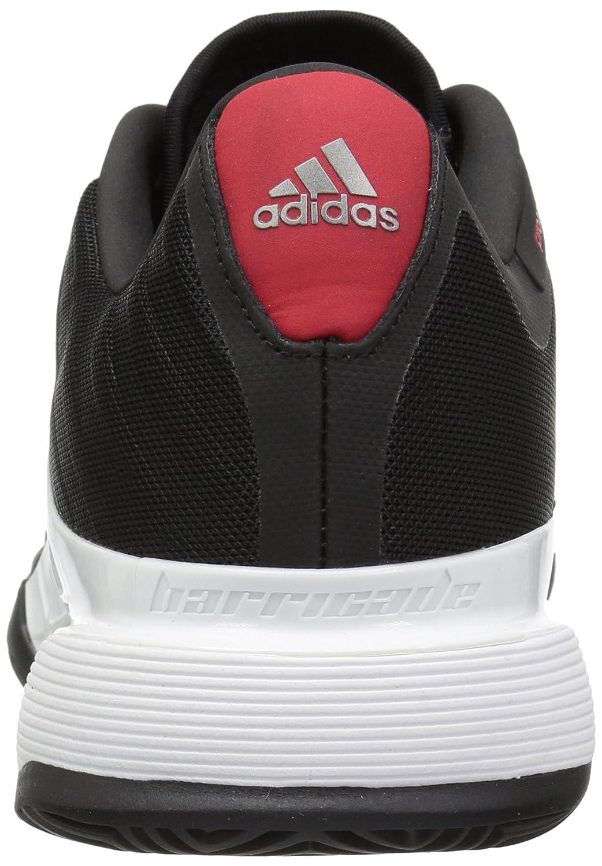promo code ca3fa e4a92 Zapatillas de tenis adidas Barricade 2018 para hombre Núcleo Negro   Blanco    Escarlata