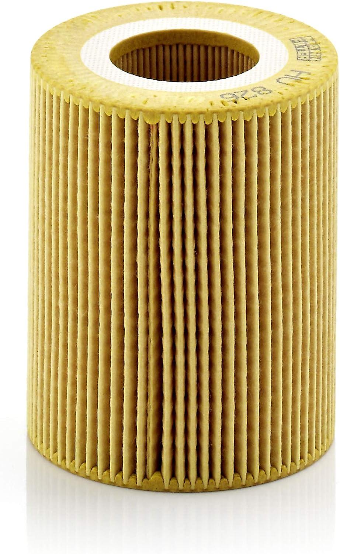 Original Mann Filter Ölfilter Hu 826 X Ölfilter Satz Mit Dichtung Dichtungssatz Für Pkw Auto