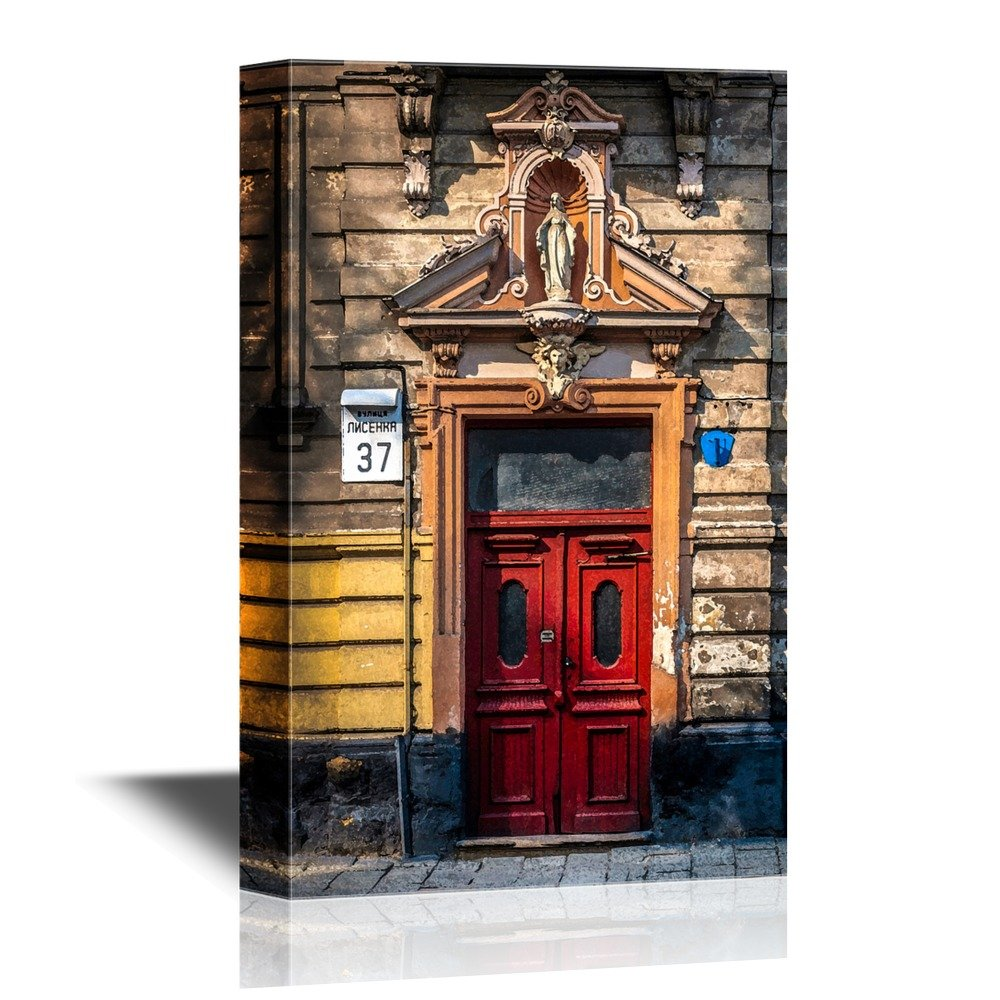 wall26 - Doors Canvas Wall Art - Door of Historic House of Baroque and Classicism Style in the West of Ukraine Lviv - Gallery Wrap Modern Home Decor ...  sc 1 st  Wall26.com - Art Prints - Framed Art - Canvas Prints - Greeting ... & Wall26.com - Art Prints - Framed Art - Canvas Prints - Greeting ...