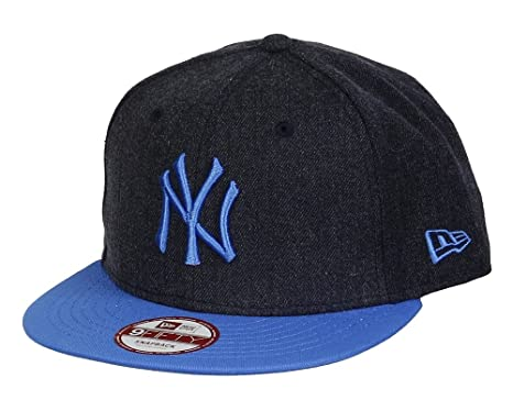 York NY Yankees MLB Gris Oscuro/instantánea Azul Heather Pop New ...