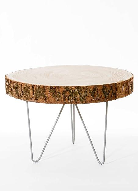 Tisch holzscheibe best tisch aus gestapelten with tisch for Holzscheibe rund