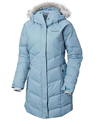 646fc7e4163 Amazon.com  Columbia Women s Lay D Down Mid II Omni Heat Hooded Winter  Jacket (Large