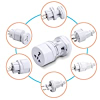 Sharp Plus International Travel Adapter All In One (US,AUS,NZ,Europe,UK) (SP)