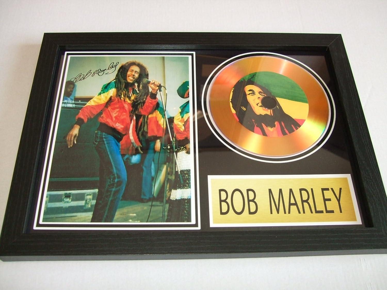 Disque dor/é sign/é Bob Marley