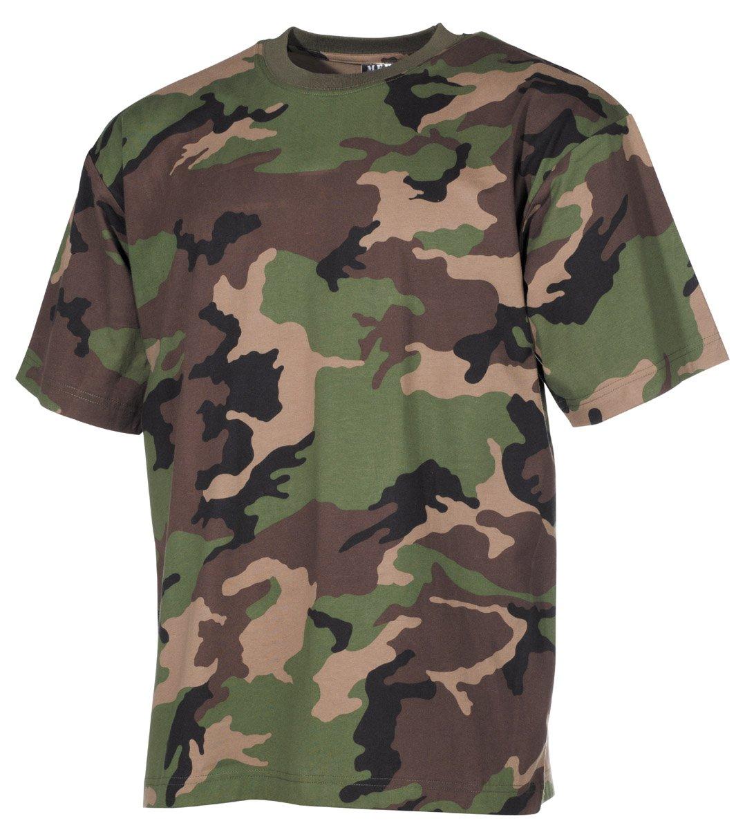 MFH Kinder T-Shirt flecktarn halbarm Kindershirt Militär Outdoor Freizeit NEU