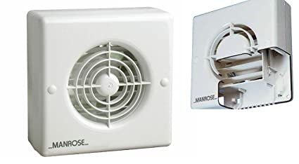 Strange Manrose Xf100 Automatic Shutter Bathroom Extractor Fan Standard Timer Pullcord Humidity Pull Cord Model Download Free Architecture Designs Scobabritishbridgeorg
