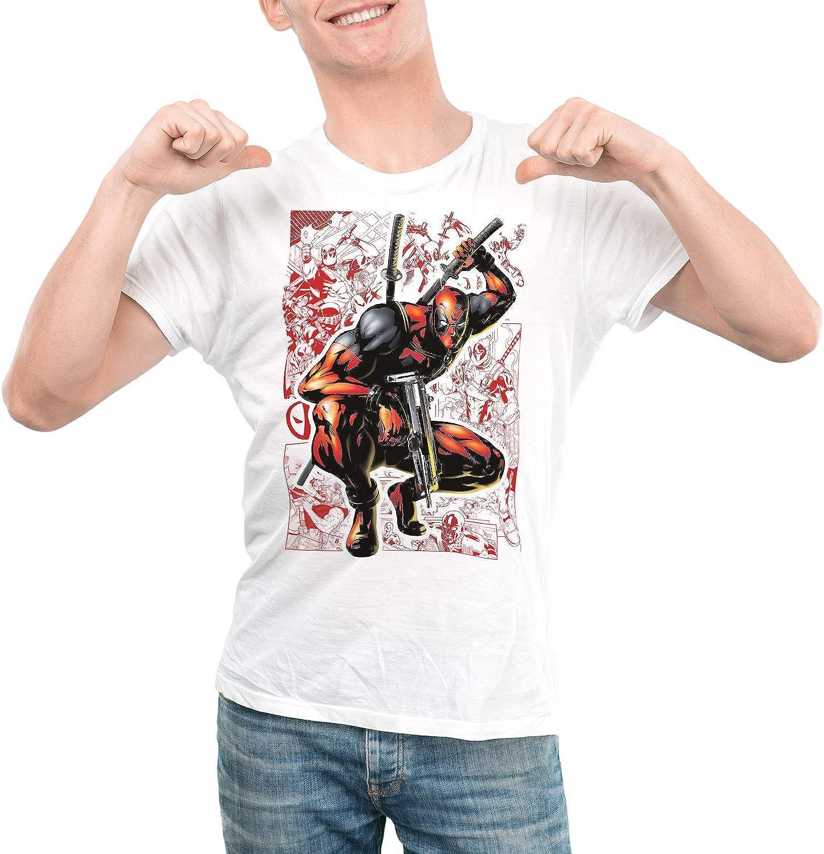 Camiseta Hombre - Unisex Superhéroe Deadpool: Amazon.es: Ropa y accesorios