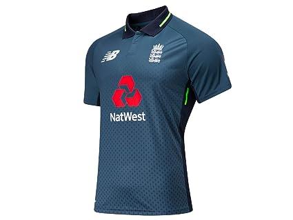 3cee189a New Balance 2018/19 Ladies S/S Cricket Shirt - North Sea Blue - Size ...