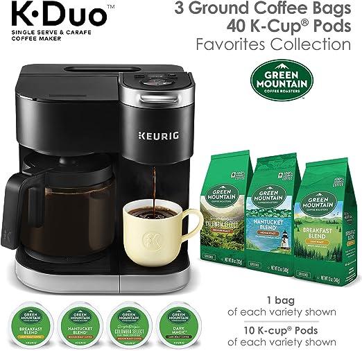 Amazon.com: Keurig K-Duo Cafetera, cápsula K-Cup de una sola ...