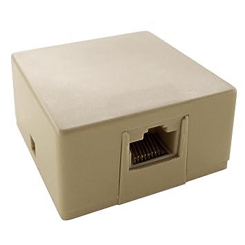 amazon com shaxon ul133w b rj31x jack rj45 to screw terminals shaxon ul133w b rj31x jack rj45 to screw terminals
