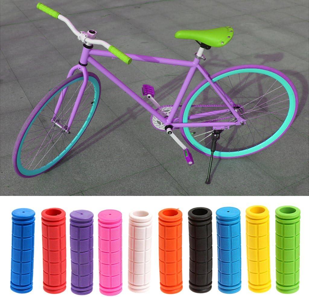 FKY Fahrradgriffe Moosgummi /Überzug//Schaumstoff Look Fahrrad Griffe Roller Lenkergriffe