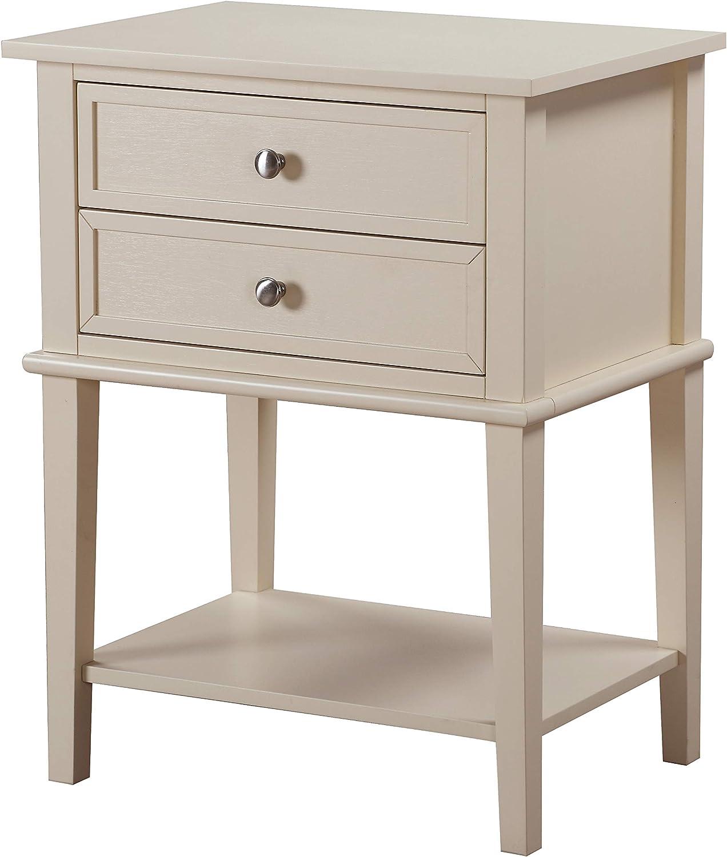 Glory Furniture Newton Nightstand, Standard, Beige