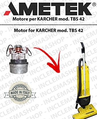 8f96539522191 TBS 42 Suction Motor Ametek for Karcher Carpet Brush  Amazon.co.uk ...