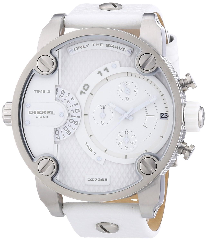 2893a96d4079 Diesel DZ7265 - Reloj cronógrafo de cuarzo para hombre con correa de piel