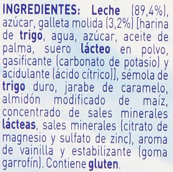Nestlé iogolino Alimento infantil, postre lácteo con galleta - Paquete de 4 x 100 gr - Total: 400 gr: Amazon.es: Alimentación y bebidas