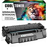 Cool Toner Compatible Toner Cartridge Replacement for HP 49A Q5949A 49X Q5949X 53A Q7553A HP Laserjet 1320 1320n P2015 P2015d