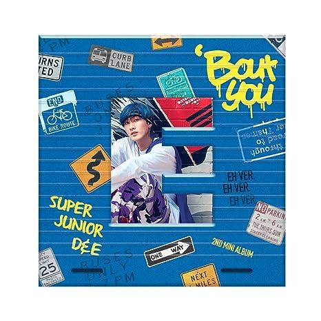 SM Entertainment SUPER JUNIOR-D&E - Bout You (2nd Mini Album) [EUNHYUK  ver ] CD+Photobook+Folded Poster
