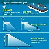 LED Solar Motion Sensor Lights,WU-MINGLU 16 LED