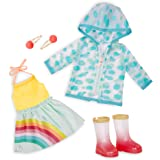 """Glitter Girls by Battat – Smile! Rain Or Shine – Deluxe Outfit - 14"""" Doll Clothes – Toys, Clothes, & Accessories for…"""