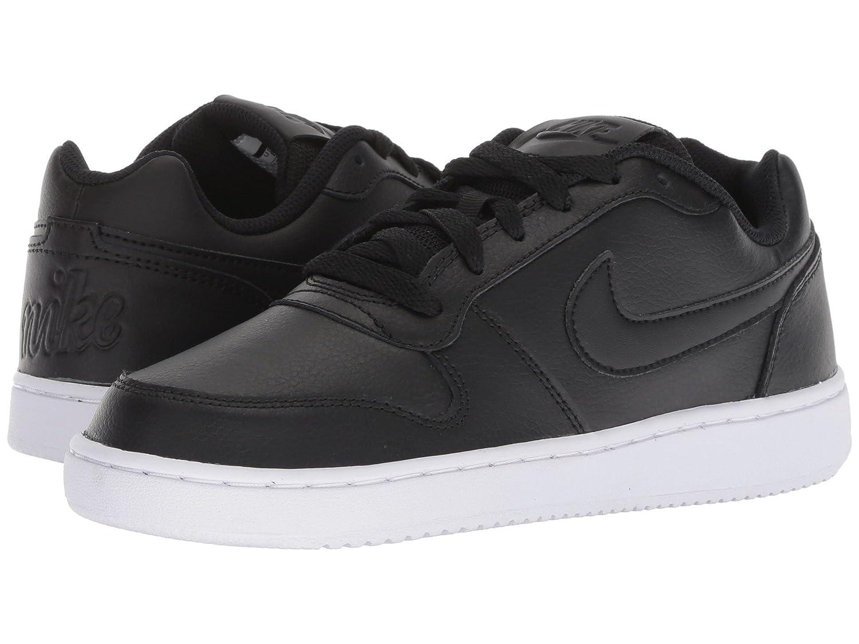 [NIKE(ナイキ)] レディーステニスシューズスニーカー靴 Ebernon Low Black/Black/White 5.5 (22.5cm) B - Medium B07H8H1472