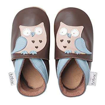 look out for release date: buy Bobux Chaussure Bébé- Hibou Brun - Taille S / 3-9 mois