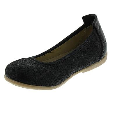 Ballerina Leder Schuhe Gr.37 schwarz Mädchen