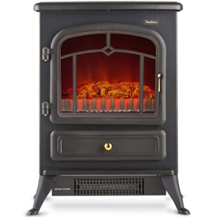 Amazoncom Vonhaus Electric Stove Heater Fireplace With Realistic