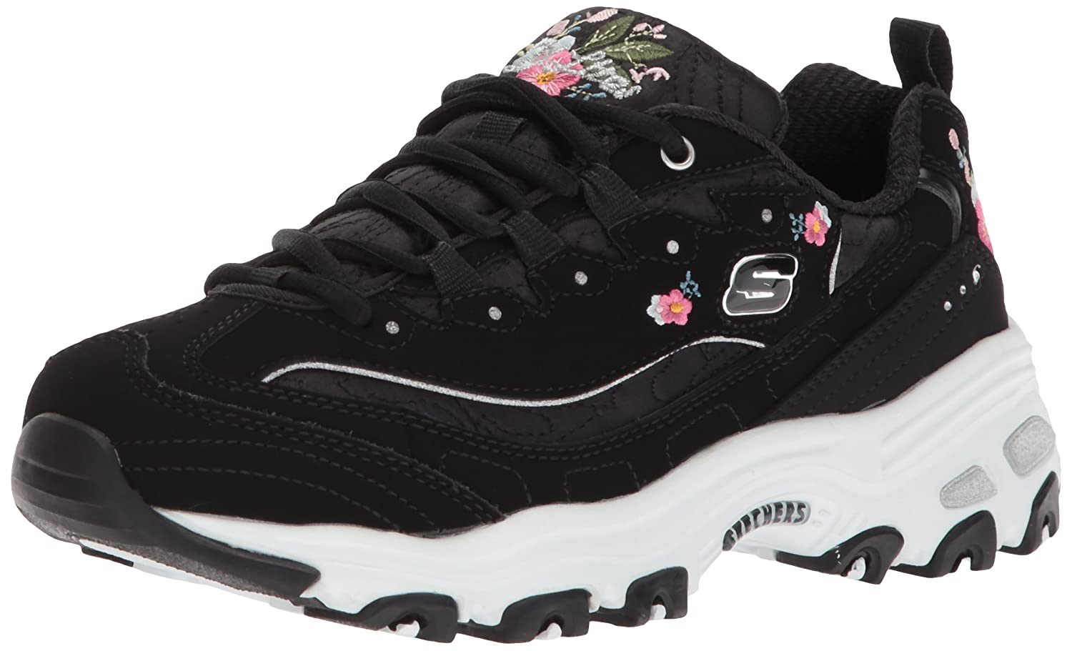 Skechers D'lites Bright Blossoms 11977-b, Zapatillas para Mujer