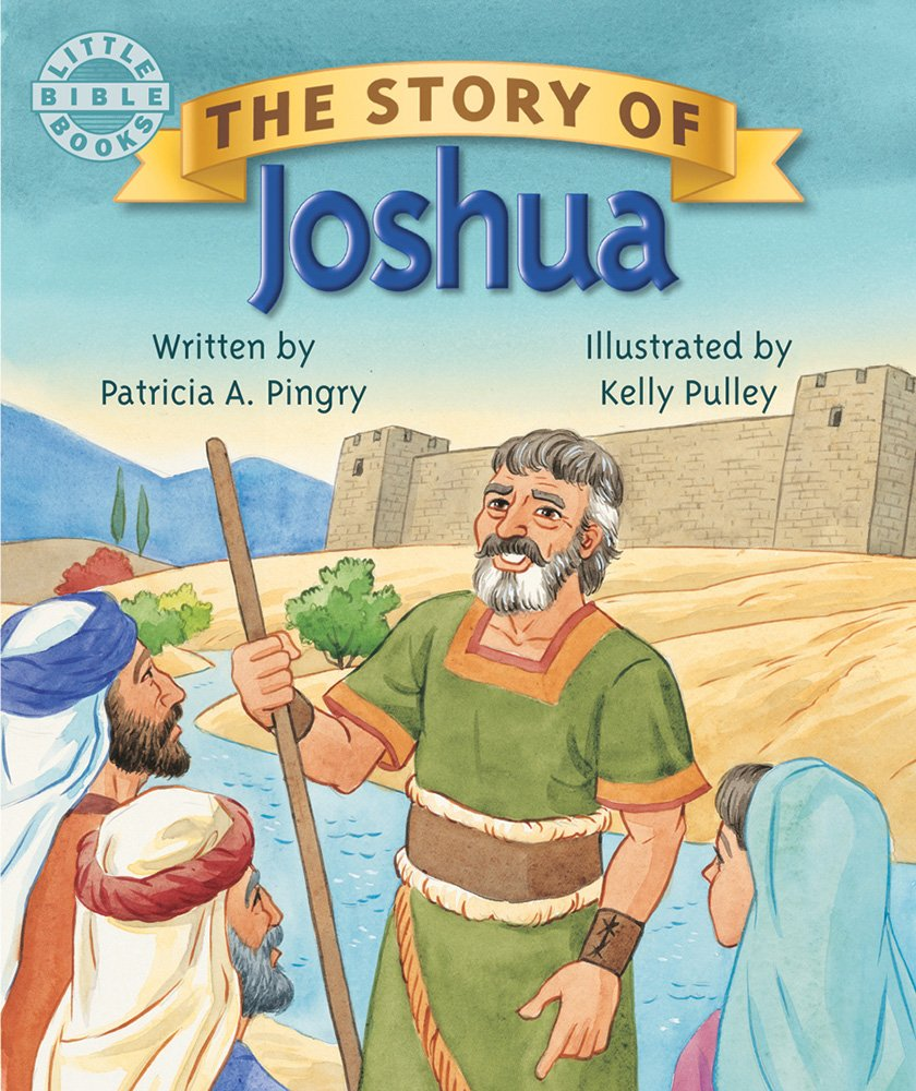 the story of joshua little bible books patricia a pingry