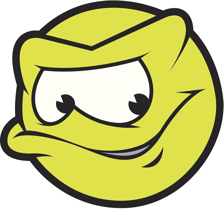 Amazon Com Sketchy Tennis Ball Emoji Vinyl Decal Sticker 12 Wide