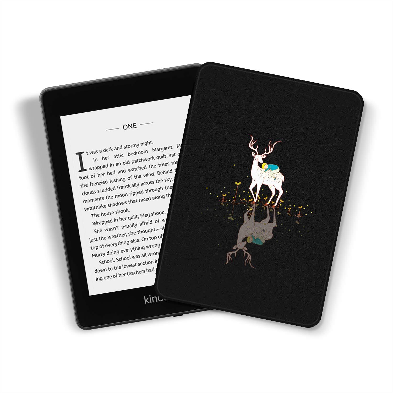-Funda Inteligente de Cuero de PU con activaci/ón//suspensi/ón autom/ática K10 The Amusing Deer 10./ª generaci/ón - Modelo de 2018 Ayotu Funda de Que Protege del Agua para Kindle Paperwhite