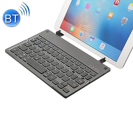MC Saite MC-B048 78 Teclas Plegables Ultra Delgado Teclado Bluetooth 3.0 Teclado inalámbrico con