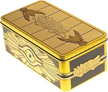 Yu Gi Oh Caja De Lata Sellada En Oro Devir Yg19tsp Toys Games