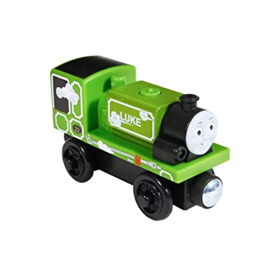 Fisher-Price Thomas & Friends Wooden Railway, Roll & Whistle Luke: Toys & Games