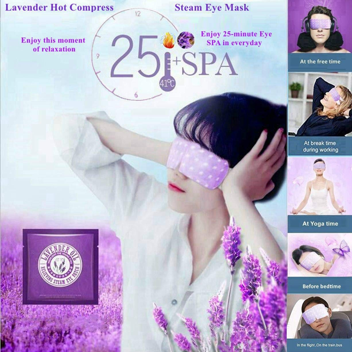 Dr pen A6 Multifunctional SPA Professional Care Equipment ✏ w/Replacement Parts + bonus 2 Lavender Steam Eye Masks (with 36 x Nano Chips, Dr.pen A6)