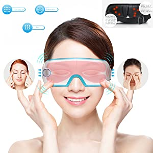 Baiyea Eye Massager with Heating and Intelligent Air Pressure Compression