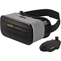 NeuTab VR 2nd Gen Virtual Reality VR Headset 3D Glasses with Remote Controller 360 Degree Immersive Movies and Games for iOS, Android Phones, iPhone Xs, XS Max & XR