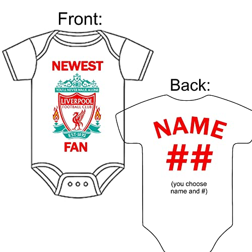 size 40 419b2 ef56f Amazon.com: Personalized Custom Made Newest Liverpool Fan ...